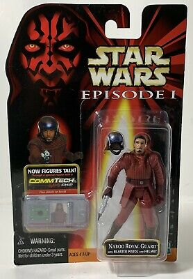 £6.83 • Buy Hasbro Star Wars Episode 1 Naboo Royal Guard Figure - New, 1998, Great Cond.