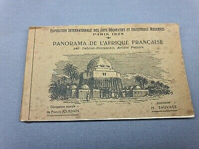 £0.99 • Buy Paris Exhibition 1925 - Rare Postcard Booklet - Illustrated Views - Post Cards