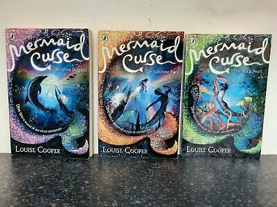 £19.99 • Buy Mermaid Curse Books 1, 2 & 3 By Louise Cooper, Rainbow Pool, Pearl & Dolphin