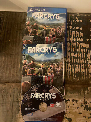 AU30 • Buy Far Cry 5 Sony PS4 PS5 Excellent Condition - Fast Postage PlayStation