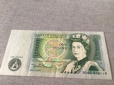 £2.20 • Buy 1978-1983 Bank Of England One Pound £1 Note  100% Genuine
