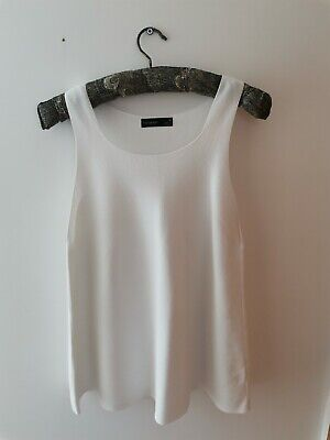 £4.50 • Buy Marks And Spencer Autograph Vest Swing Top - Size 16