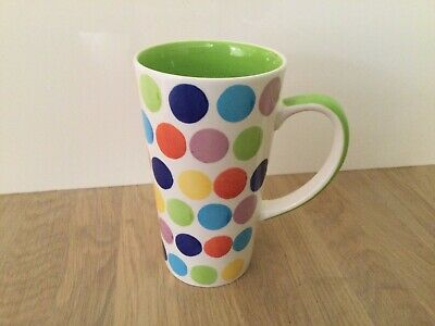 £19.50 • Buy Whittard Spotty Tall Latte Mug - Excellent Condition - Free Postage