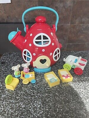 £14.99 • Buy ELC Happyland Mouse Teapot House / Kettle Cottage With Mice Figures Furniture