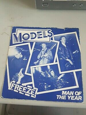 £5 • Buy Models, Freeze, Feat Marco From Adam & The Ants, Rare 7  Punk Vinyl Single