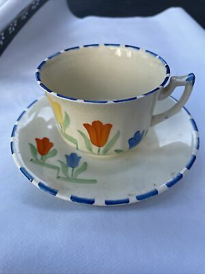 £10.50 • Buy Rare Art Deco Coronet Ware Parrot And Company Teacup And Saucer