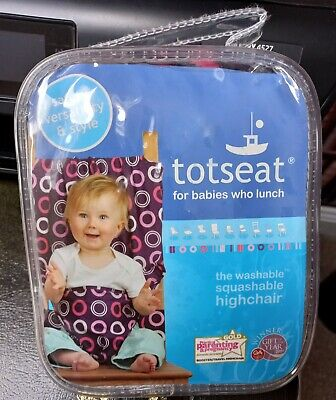 £15 • Buy Totseat For Babies Who Lunch - The Washable Squashable Highchair BN RRP£30