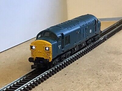 £82 • Buy Graham Farish Class 37/041 In Br Blue Dcc Fitted.