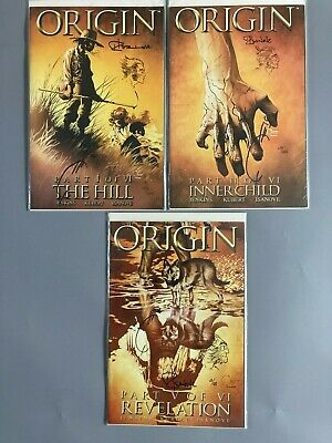 £75 • Buy Wolverine Origin DF Dynamic Forces Remarked Isanove Signed Quesada 1, 2 & 5