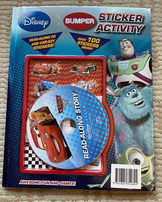 £1.99 • Buy Disney Read Along Sticker Activity Book Card Toy Story Monsters
