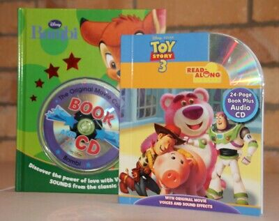 £1.49 • Buy Two Disney  Read Along  Books: Toy Story 3 & Bambi. Brand New And Unused!