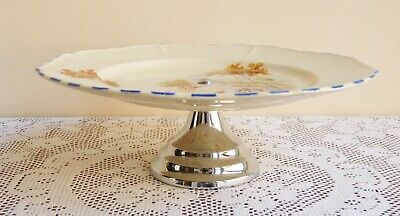 £12.99 • Buy Vintage Cake Stand By Coronet Ware Parrot & Company.