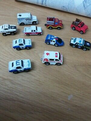 £6.99 • Buy Micro Machines Police And Rescue Cars/Trucks Toys.