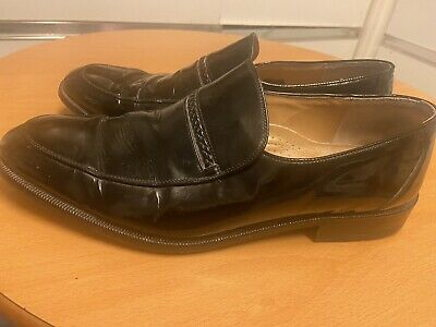 £9 • Buy Mens Shoes BALLY SIZE 8.5 EU 43 Bargain Leather BLack Excellent CLASSIC Italian