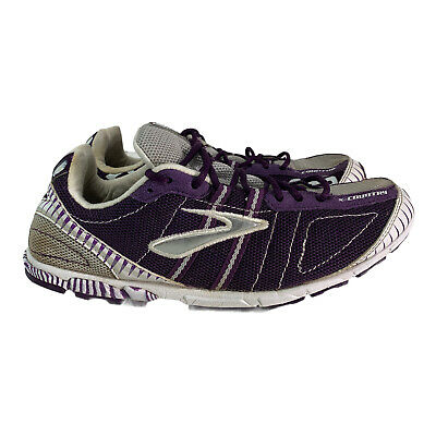 $ CDN37.75 • Buy Brooks Womens Purple White Mach 12 Featherlite Lace Up Running Shoes Size 8.5