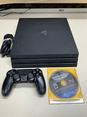 AU387.25 • Buy Sony Playstation 4 Pro Ps4 Pro 1tb Cuh-7015b W /controller & Cables + Game
