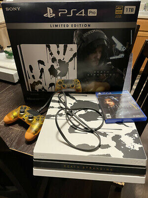 AU516.33 • Buy PS4 Pro Upgraded Samsung 2TB SSD Hard Drive Console Death Stranding Edition USED