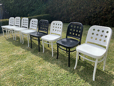 AU99 • Buy 8 X Bentwood 'Hoffman Style' Chairs Made In Poland - Priced To Sell