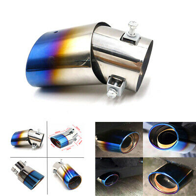 $12.42 • Buy Car Vehicle Exhaust Tail Pipe Tip Muffler Stainless Steel Replacement Car Parts