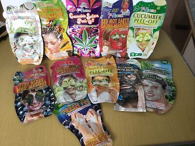 £11.99 • Buy NEW 7th HEAVEN FACE And FEET MASKS & PEELS Bundle Of 11 FREE POSTAGE