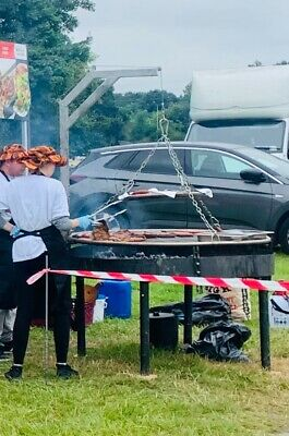 £1250 • Buy 1.4m Large Swing Grills. German And Christmas Market Catering. BBQ Barbecue