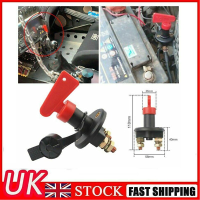 £6.99 • Buy 400A Battery Isolator Disconnect Cut Off Power Kill Switch For Car Truck Boat