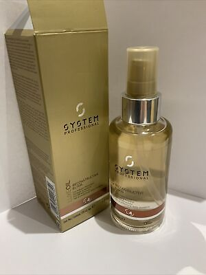 £24.95 • Buy Genuine System Professional LUXE OIL Reconstructive Elixir-L4 100ml For Keratin
