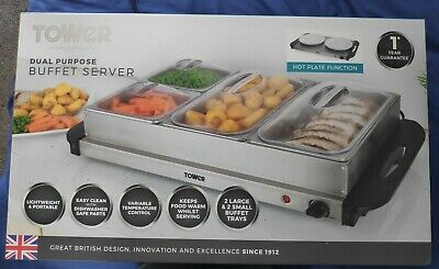 £50 • Buy Tower Four Buffet Server And Plate Warmer