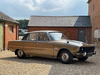£8995 • Buy 1972 Rover 2000 TC P6. Only 38,000 Miles From New. Leather Upholstery.