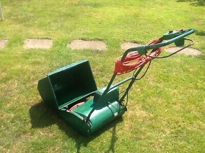 £35 • Buy Qualcast Lawnmower, Mains Electric, 14  Self Propelled Cylinder Mower.