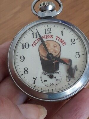 £19.99 • Buy Vintage Collectable Guinness Toucan Advertising Automation Pocket Watch