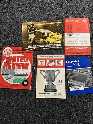 £1.99 • Buy Manchester United Fc Football Programmes 1960s/70s