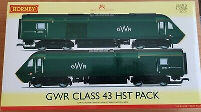£165 • Buy Hornby GWR Class 43 Hst Limited Edition No 340 Out Of 1000 DCC Ready - R3510