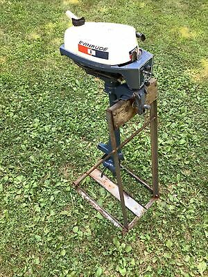 AU135.11 • Buy Old Brinkton Outboard Motor Stand Evinrude Mate 2 Hp Stand Only!!! Dealer Stand