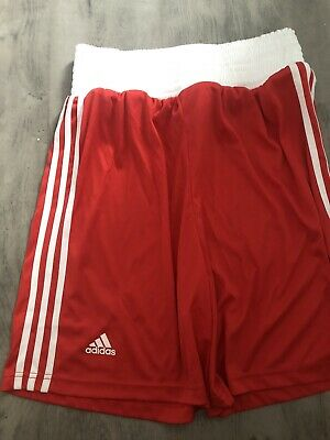 £19.99 • Buy Adidas ABA Boxing Shorts RED SIZE MEDIUM ADULTS.        NEVER BEEN WORN