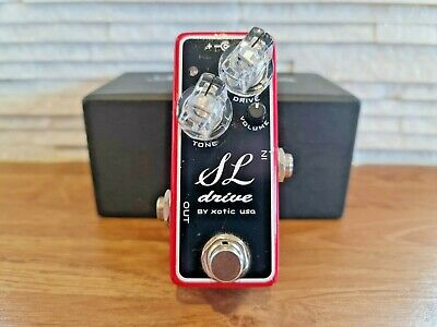 £105 • Buy Xotic SL Drive Guitar Overdrive Pedal BOXED