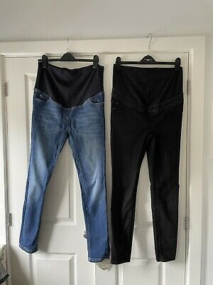 £5 • Buy Over Bump Maternity Jeans Size 12