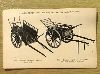 £12.95 • Buy Farming Carts ~ Antique Agricultural Machinery Postcard