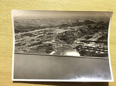 £9.95 • Buy Aerial View Of ASSUAN DAM, ASWAN Photographed From Imperial Airways ~ Old PHOTO