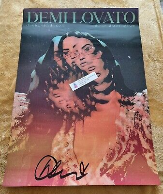 £29.89 • Buy *SIGNED* Demi Lovato Poster UK Exclusive 1 SAMEDAY🎈POST
