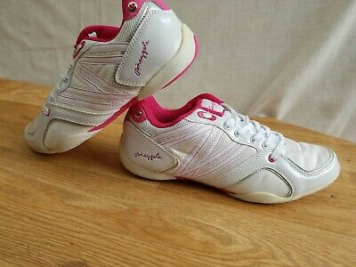 £10.50 • Buy Pineapple Dance Ladies Pink And White Trainers Size EUR 39