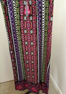 £5.50 • Buy Ladies Size 18 Long Maxi Skirt By South Fab Colours Bnwt