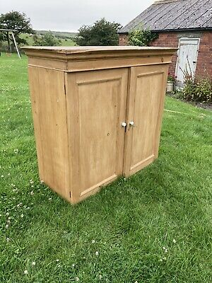 £200 • Buy Antique Country House Linen Press/Cupboard Top