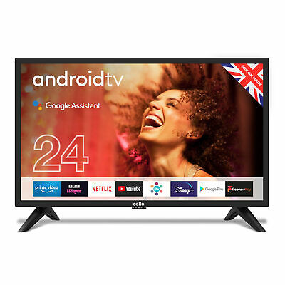 £219 • Buy Cello 24  Inch HD Ready LED 12V Smart Android Traveller TV With Google Assistant