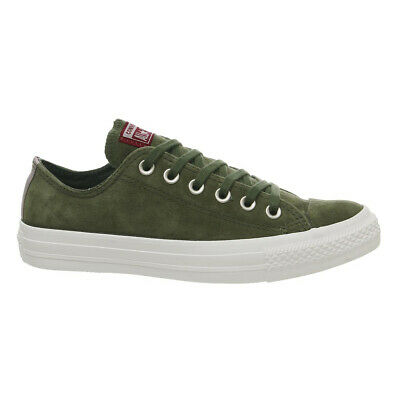 £37.99 • Buy Converse Unisex Chuck Taylor All Star Lo Top Green Suede Casual Trainers