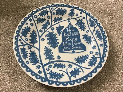 """£19.99 • Buy Rob Ryan This Bell Will Ring When I Hear You Sing 8"""" Plate New"""