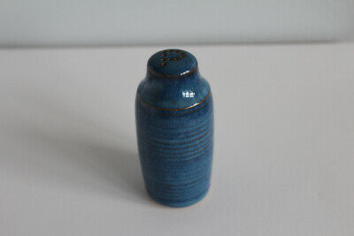 £4 • Buy Denby Langley Pottery Chatsworth Blue Tall Pepper Pot Perfect Condition