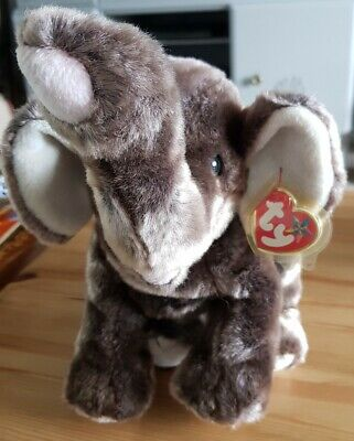 £19.99 • Buy Large Trumpet The Elephant Y Ty Beanie Buddy 12  Collectors Mint Tag V Rare