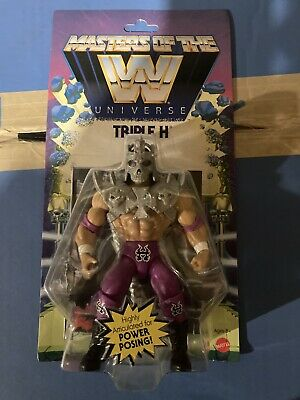 $37 • Buy Triple H Masters Of The WWE Universe Wave 1 Action Figure HHH WWF MOTU Series 1