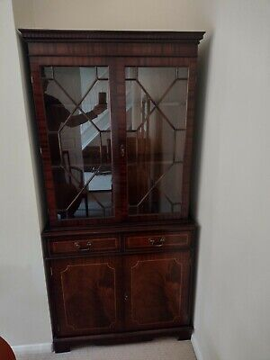 £20 • Buy Dining Room Glass Fronted Display Cabinet
